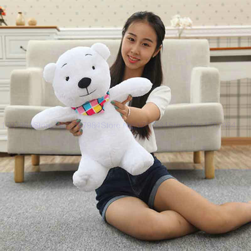 40cm Cute Teddy bear doll polar bear plush toy dolls puppets children birthday girl Wholesale kids toys