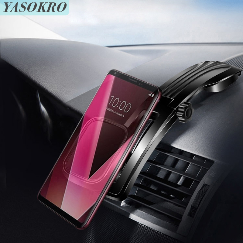 YASOKRO Universal Car Magnetic Phone Holder Stand 360° Rotatable Phone Mount Dashboard Adjustable Vehicle Phone Stand