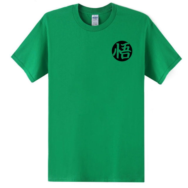 BAIJOE Anime Dragon Ball Goku Cosplay Print t-shirt Men's Fashion tshirts Casual Cotton Short Sleeve t shirt Men Plus Size S-2XL