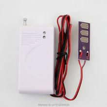 Бесплатная доставка Беспроводной Проникновения Воды Утечки Датчик Детектор для беспроводной системы охранной сигнализации GSM