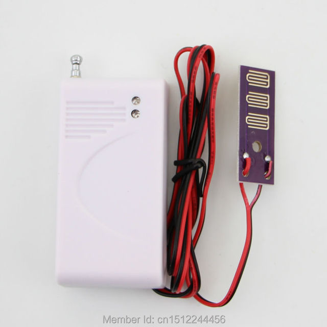 Wireless Water Intrusion Leakage Sensor Detector for wireless Security GSM alarm system