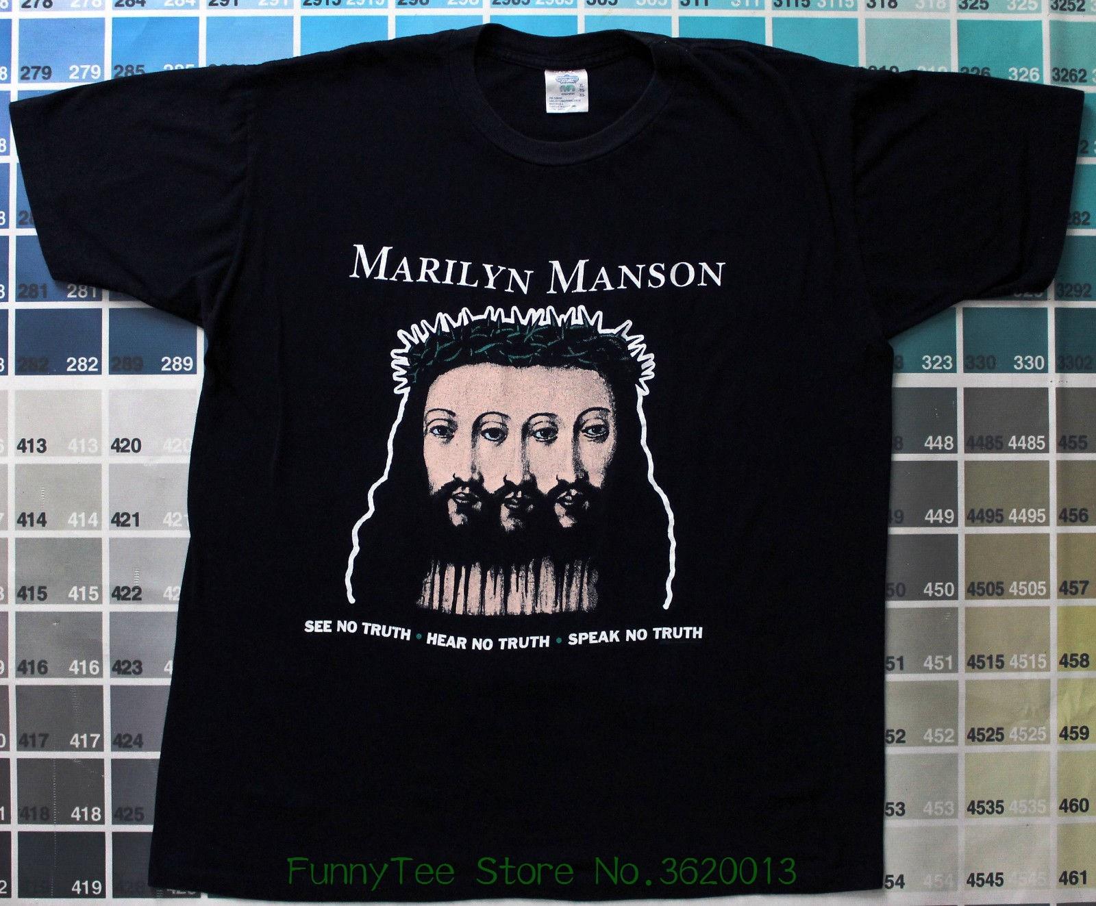 8b0ba08f535a Marilyn Manson Sweat Dream T Shirt Design Logo Reprint Usa Size S - m - l -  xl - xxl