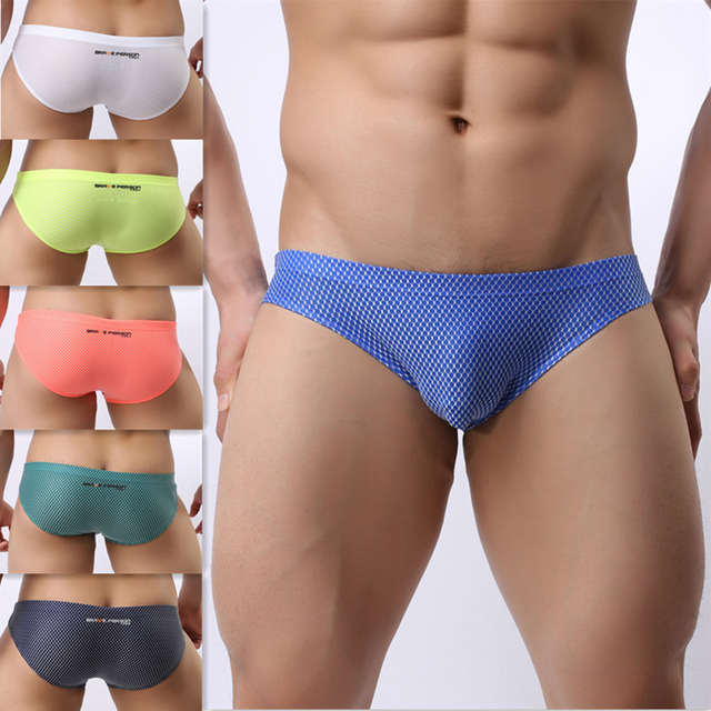 Nylon briefs Brave Person brand underwear