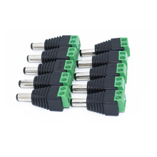 10 Stks/partij Cctv Bnc Connector Professionele Converter Plug Adapter Voor Cctv Camera