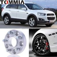 Fits Chevrolet Captiva 2PCS Wheel Hub Centric Spacers Tire Adapters Rims Flange 5x115 Center Bore 70.3mm Aluminum