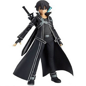 14cm Anime Sword Art Online kirigaya kazuto S.A.O Kirito PVC Action Figure Model Doll Toys For Kids Gifts