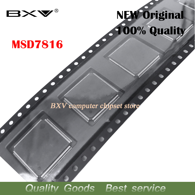 2pcs MSD7816 QFP-128 Chipset New original2pcs MSD7816 QFP-128 Chipset New original