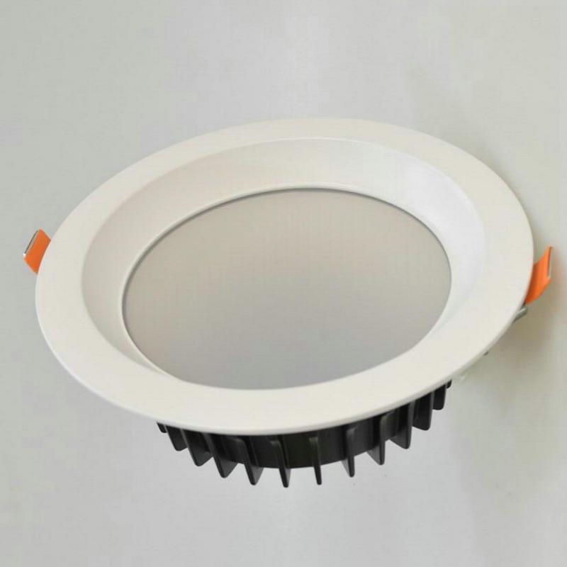 12PCS LED Downlight 15w 20w 30w AC110V AC220V COB LED Plafonul - Iluminatul interior