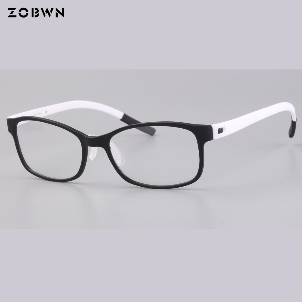 097e4c624b ZOBWN super thin Cheap stock eyeglasses women montures de lunette Extremely  Light spectacles man flexibility Oculos