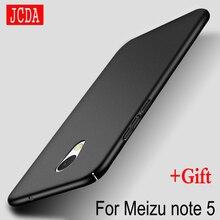 Jcda бренд для Meizu note5 Примечание 5 M5 м Примечание M5Note мобильного телефона чехол силиконовый Скраб крышка Роскошные Si внутри жесткие PC матовый назад