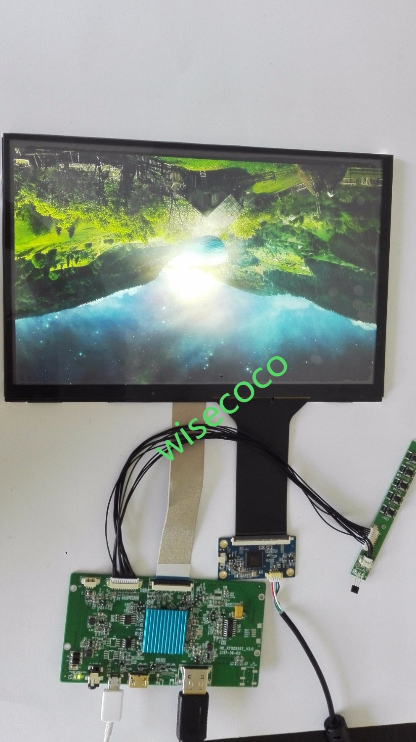 10.1 Inch 2k Tft Lcd 2560*1600 With Capactive Touch Panel Hdmi Mipi Controller Board For Diy Project 3d Printer Soft And Antislippery
