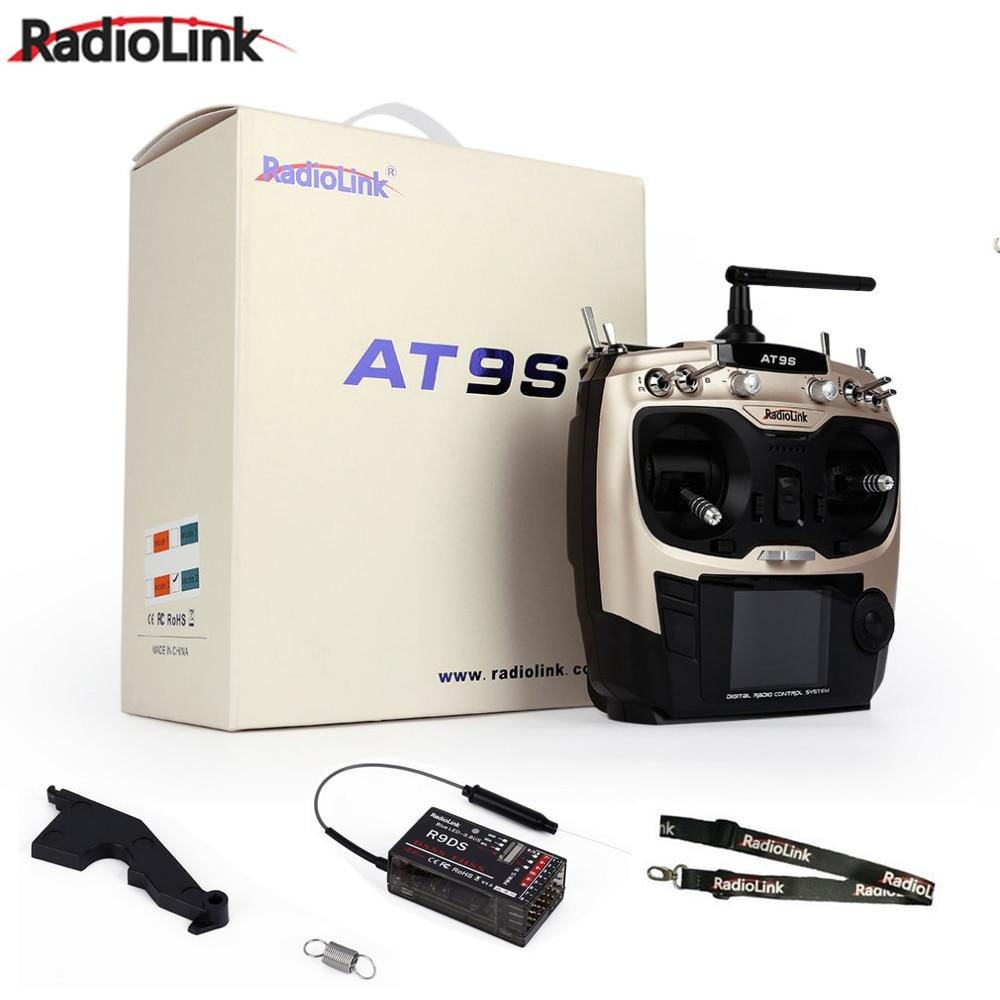 ترقية وظيفية!! Radiolink AT9 S AT9S R9DS راديو التحكم عن نظام DSSS FHSS 2.4G 10CH الارسال استقبال