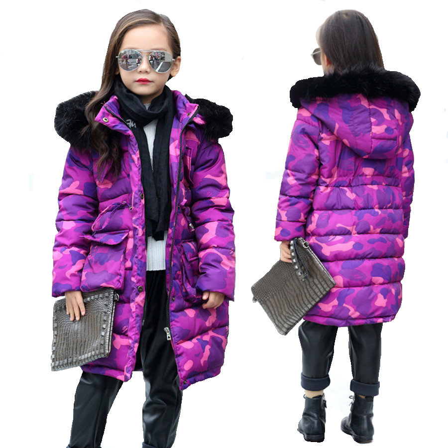 Online Buy Wholesale girls purple winter coat from China girls ...