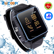 W08 Reloj Inteligente Reloj Monitor de Ritmo Cardíaco 2G Nano Tarjeta SIM IP68 Impermeable Deporte Reloj Smartwatch Inteligente PK K7