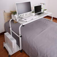 20%Lazy Bed Laptop Desk Desktop Home Double Computer Desk Bed Desk Removable Across The Bed Table