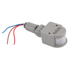 1Pc New Motion Sensor Light Switch Outdoor AC 220V Automatic Infrared PIR Motion Sensor Switch for LED Light