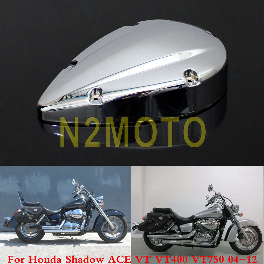 Motorcycle Chrome Air Filter Cover Cleaner Protection Guard For Honda Shadow Fuel Ac 3171 Ch 3