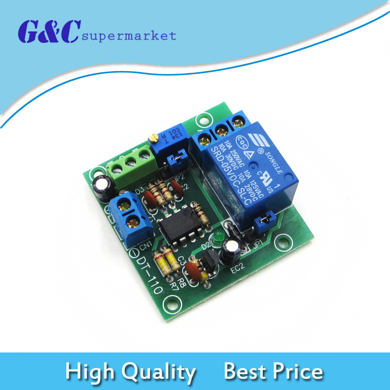 DC 5/12/24V Circuit Modifications Voltage Comparator LM393N for Remote Control