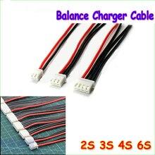1 шт. 2S 3S 4S 5S 6S Баланс зарядное устройство кабель Lipo батарея баланс зарядное устройство кабель для IMAX B3 B6 вилка соединителя с проводом