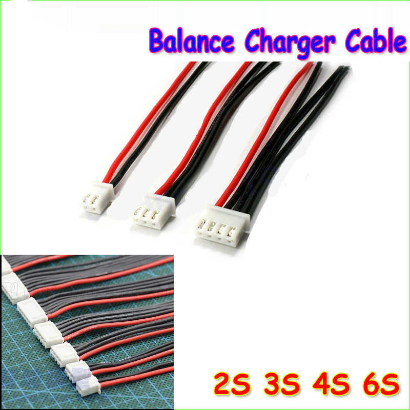1pcs 2S 3S 4S 5S 6S Balance Charger Kabel Lipo Battery Balance Charger Cable voor IMAX B3 B6 Connector Plug Draad