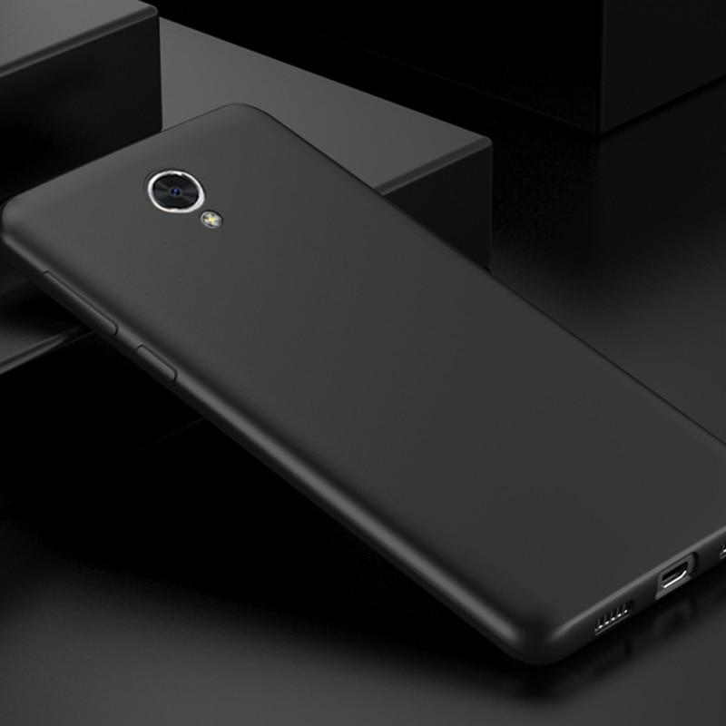 Meizu m5s Kasus Mewah Matte Shockproof Meizu m5c Kasus Silikon - Aksesori dan suku cadang ponsel - Foto 5
