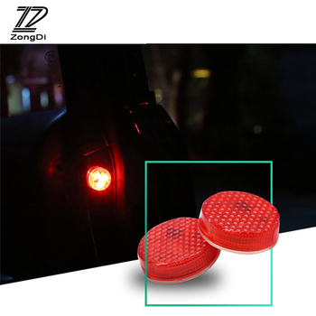 ZD LED Car Door light Strobe Warning Light Stickers For Skoda Octavia A5 A7 2 Fabia Yeti BMW E60 F30 X5 E53 Inifiniti Accessorie image