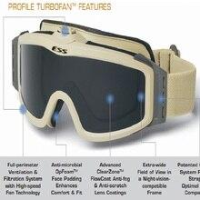 Haute Qualité ESS Lunettes lunettes de Soleil Sports de Plein Air Armée Bullet-preuve Ventilateur Anti-Brouillard Lunettes Militaires Lunettes En Gros