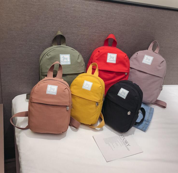 Women Mini Backpacks Nylon Shoulder Teenage Girls Small School Backpacks Casual Travel Rucksack Sac A Dos Femme T-10970