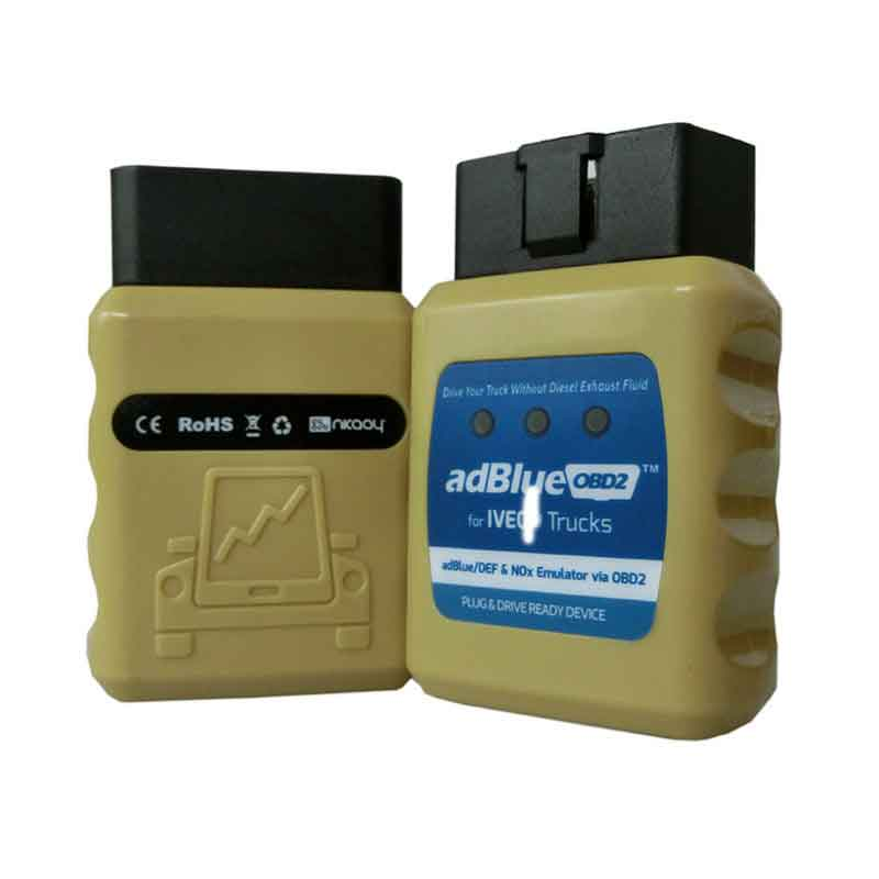 Versão mais recente Obd2 AdblueOBD2 para I-VECO Truck adblue Emulador Caminhão AdBlue/DEF Nox Adblue Emulador via OBD 2 OBD2 i-veco Caminhão