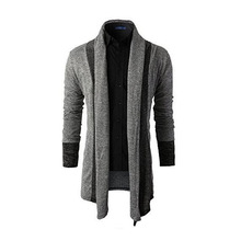 Sweater Men Brand Clothing Patchwork Cardigan Knitted Pullover Men Slim Fit Plus Size Men's Top Long Sleeve Sweater Coat