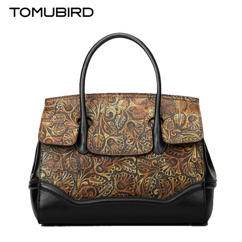 Tomubird  2017 new original Chinese wind leather handbag Retro painted shoulder Messenger bag Small square bag women's handbags original national wind leather ladies handbag 2017 spring of the new chinese wind hand bag woman women s handbags