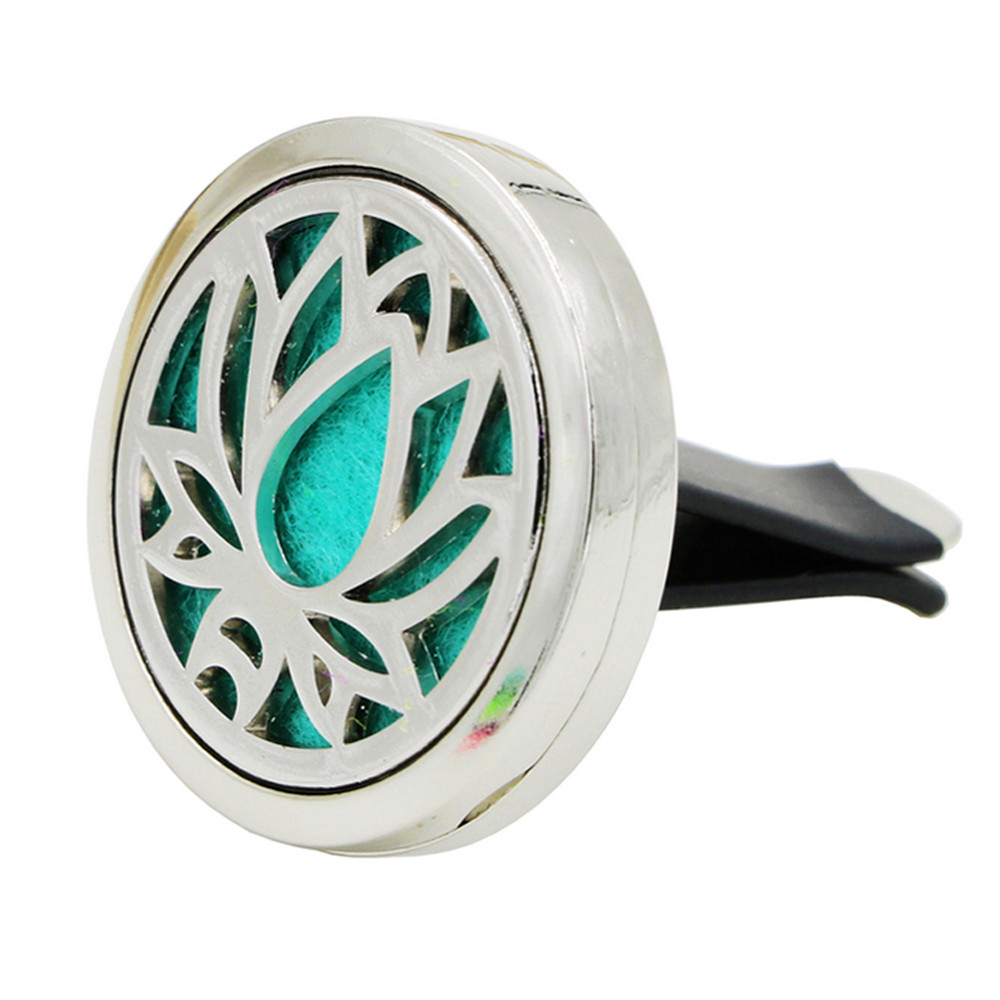 Lotus Tree Of Life Car Outlet Perfume Diffuser Auto Perfume Clip Vent Air Freshener Essential Oil Diffuser Stink In The Car #YL1