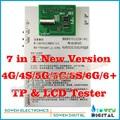 7 in1 ЖК-дисплей и Сенсорный экран Digitizer сенсорный экран Тестер тест доска для iphone 6g 6 plus 6 P 5 Г 5S 5С 4 Г 4S, Топ-версия