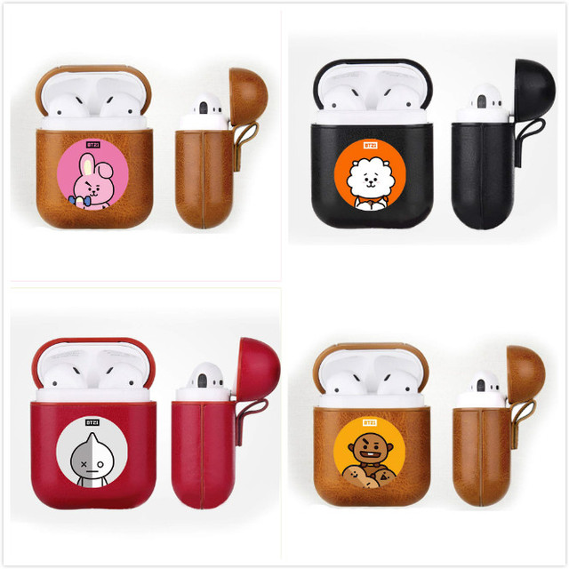 Bluetooth Headset Protector Leather Earphone