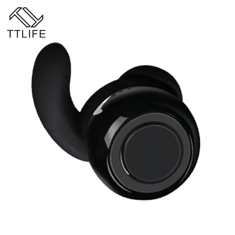 TTLIFE TWS Twins Mini Wireless Earphone Bluetooth 4.1 CVC6.0 Airpods Stereo Headset M9 Earphone With Mic For iPhone Android IOS ttlife new mini stereo car kit bluetooth headset wireless earphone handsfree auriculares with mic with charging dock for iphone