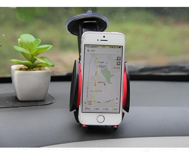Multifuncional suporte Do telefone Do Carro/suporte de navegação móvel/suporte do telefone do carro ventosa