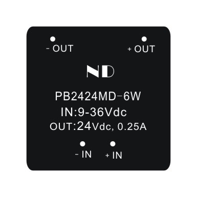 цена на 4:1 input voltage dc dc converter power module 24v to 24v 0.25a regulated isolated  power supplies quality goods
