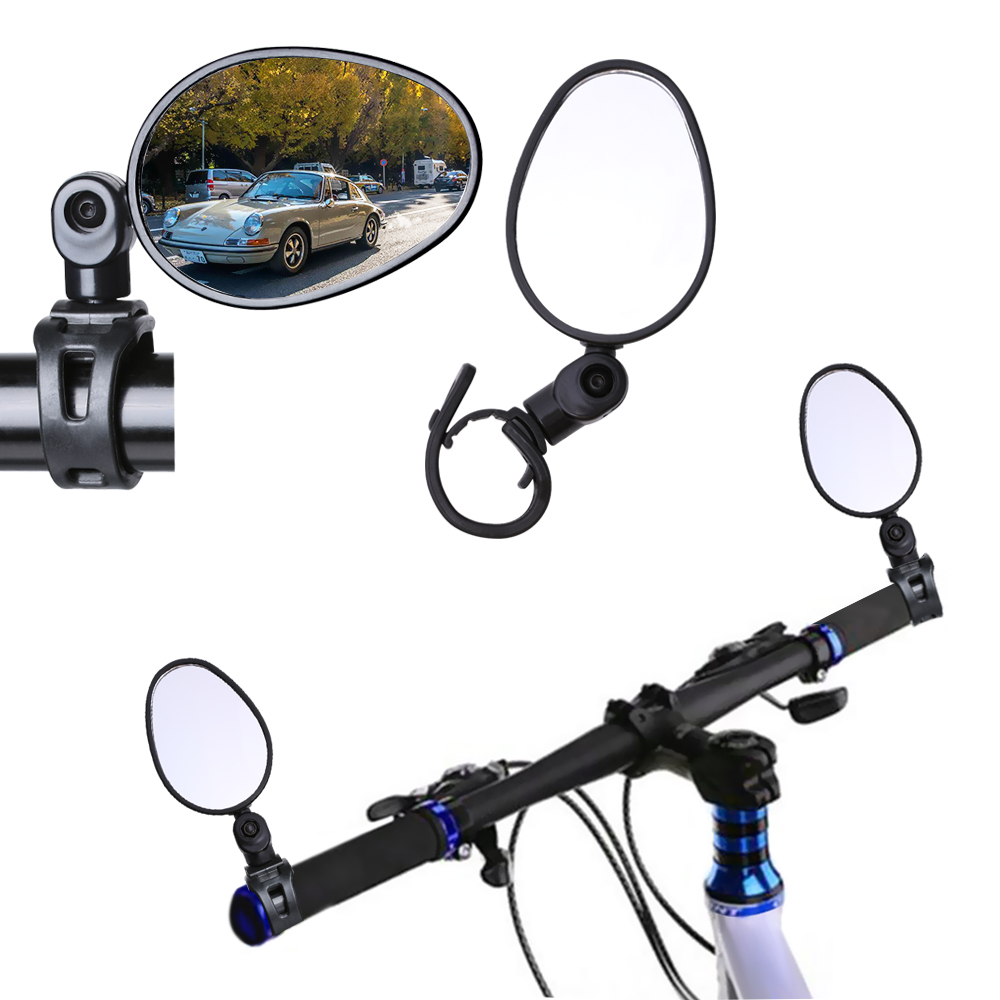 1 x Pair Bike Bicycle Handlebar Glass Rear View Cycling Cycle Rearview Mirror