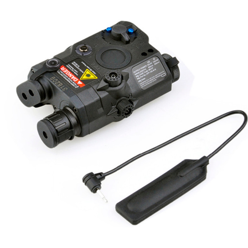 ФОТО Hunting Element Airsoft Spotlight Weapon Light Tactical Airsoft light Led IR Infrared Military Red Dot Laser Pistol Light