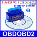 2016 Newest V2.1 Super Mini ELM327 Bluetooth Supports OBD2 Protocols OBDII ELM 327 Diagnostic Tool Scanner For Multi Brand Cars