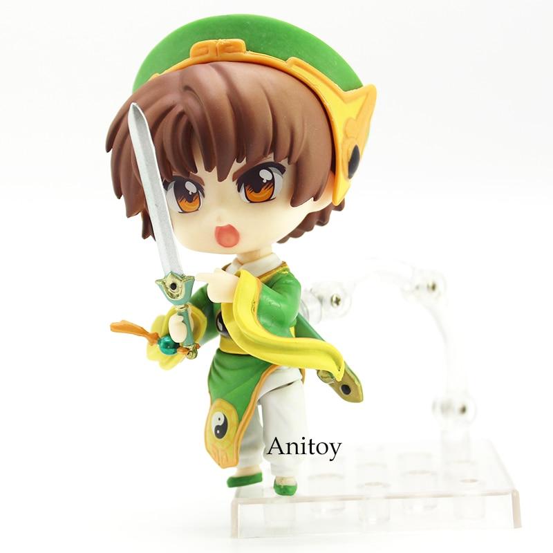 Anime Cartoon Card Captor Sakura Li Syaoran Nendoroids Doll 763 PVC Figure Collectible Model Toy 10cm 13