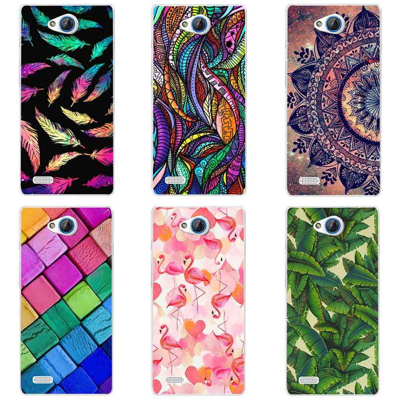 Cartoon Case For ZTE Blade Q Lux,Mobile Phone Shell, TPU Painted Beautiful Cartoon Color Painting Case.12 Colors!