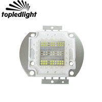 Topledlight Customized 60W High Power Colorfull Aquarium Fish Tank Led Emitter Lamp Light White Red Green