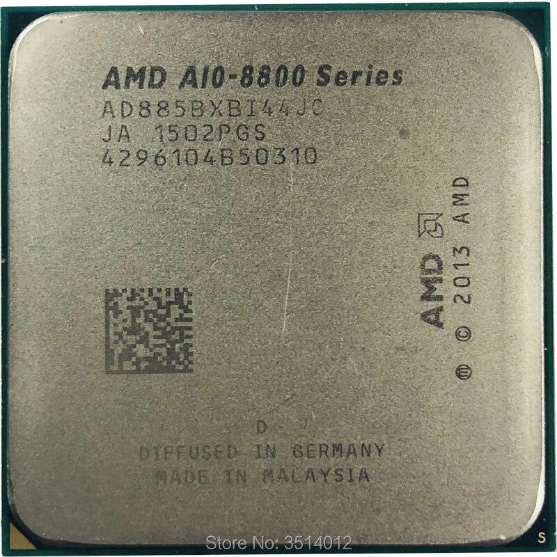 AMD A10 Series PRO A10 8850B A10 8850 A10 8850B 3 9 GHz Quad Core CPU