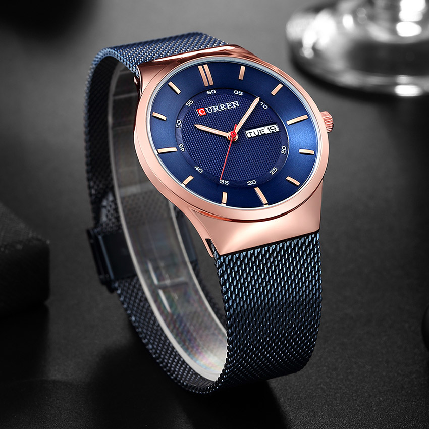 51465c6a0 Mens Watches Top Luxury Brand curren 8311 Men Unique Sports Watch Men s  Quartz Date Clock Waterproof Wrist Watch Relogio-in Quartz Watches from  Watches on ...