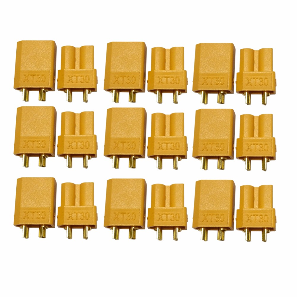 400 Pcs Above XT30 Male Female Bullet Connector Update Plug For RC Plane Lipo Battery RC Quadcopter FPV (200 Pair) 10 pairs hot selling yellow xt30 xt60 xt90 high quality male female gold plated battery connector plug for rc aircraft