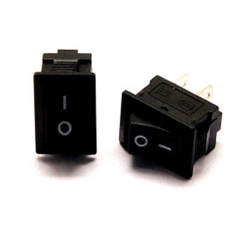 5pcs Black Push Button Mini Switch 6A-10A 250V KCD1-101 2Pin Snap-in On/Off Rocker Switch 21*15mm 5pcs Black Push Button Mini Switch 6A-10A 250V KCD1-101 2Pin Snap-in On/Off Rocker Switch 21*15mm