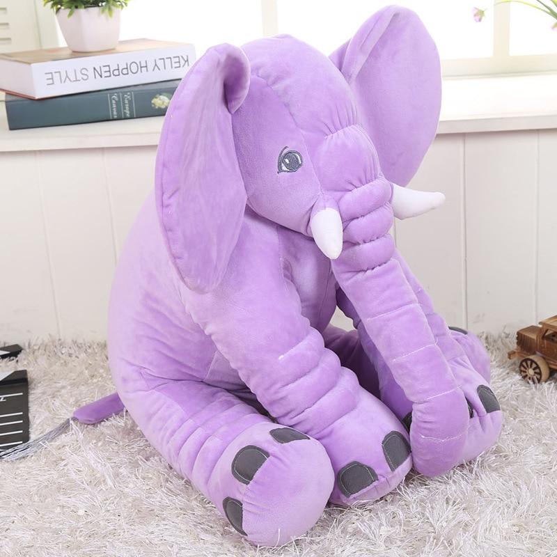 Toys & Hobbies 30cm New Big Soft Cute Colorful Plush Elephant Toy Kids Sleeping Cushion Elephant Doll Baby Dolls Birthday Gifts Holiday Mr209 Convenience Goods