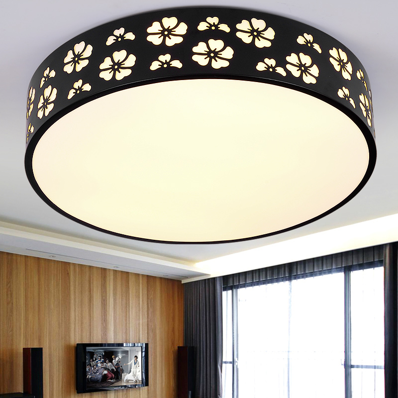 modern LED round Ceiling Lights living room bedroom dining study warmth lighting remote control porch ceiling lamp ZA FG68 modern led ceiling lamp aisle simple living room porch balcony study room long lamp