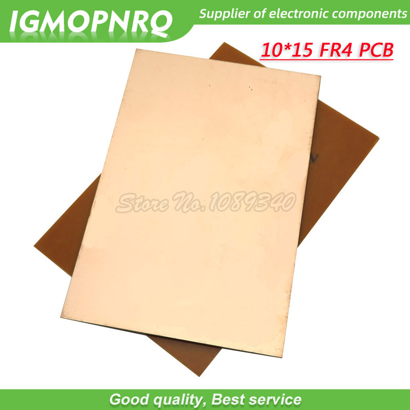 Single Sided Copper Clad Plate Laminate PCB Circuit Board 150mm x 100mm